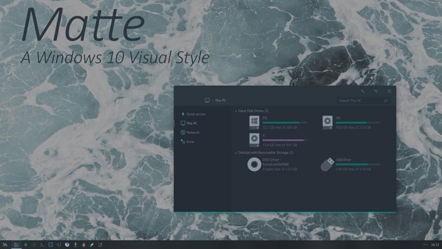 Matte A Windows10