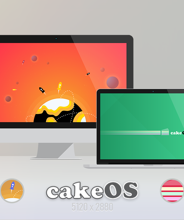 cakeOS – Planets / Spongy Fields