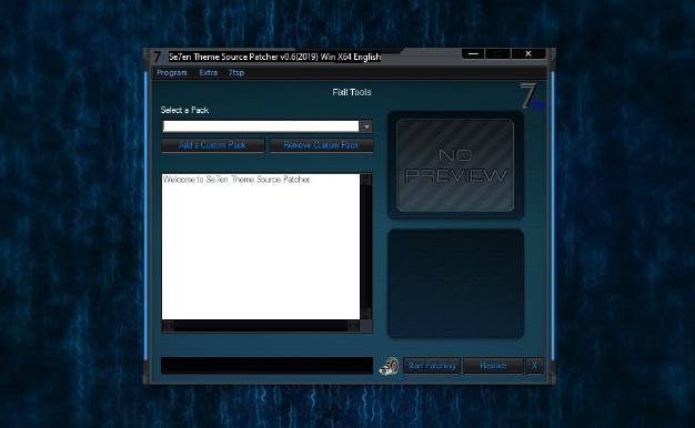 Windows系统图标替换工具——Se7en Theme Source Patcher
