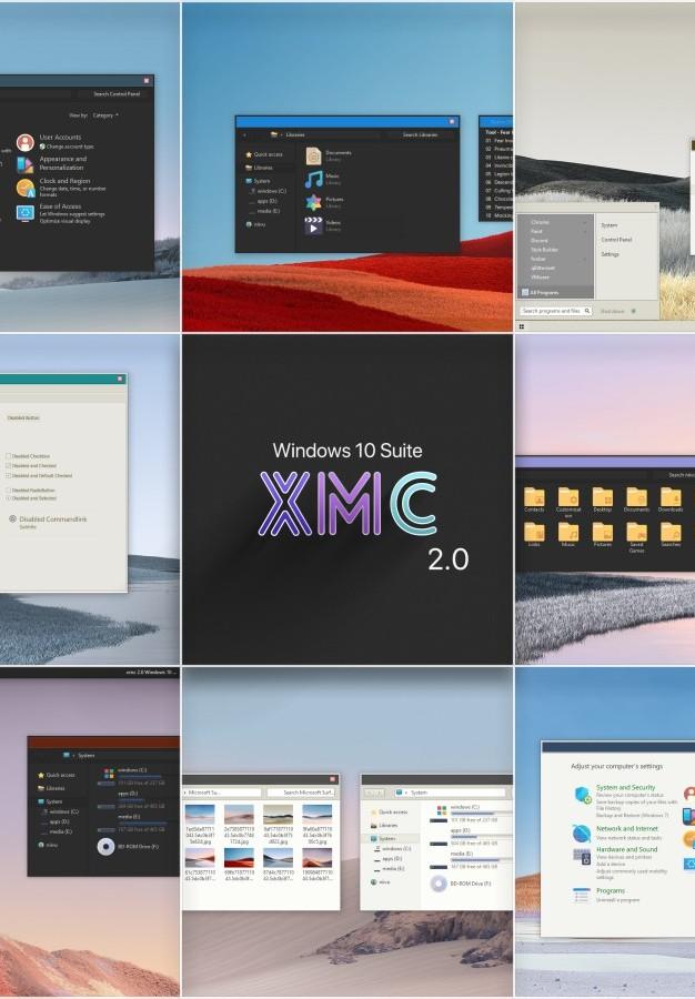 XMC 2.0 Windows 10 Suite