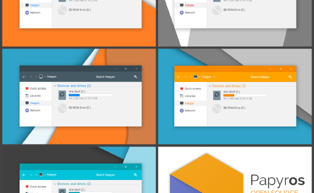 Papyros Windows 10 Themes