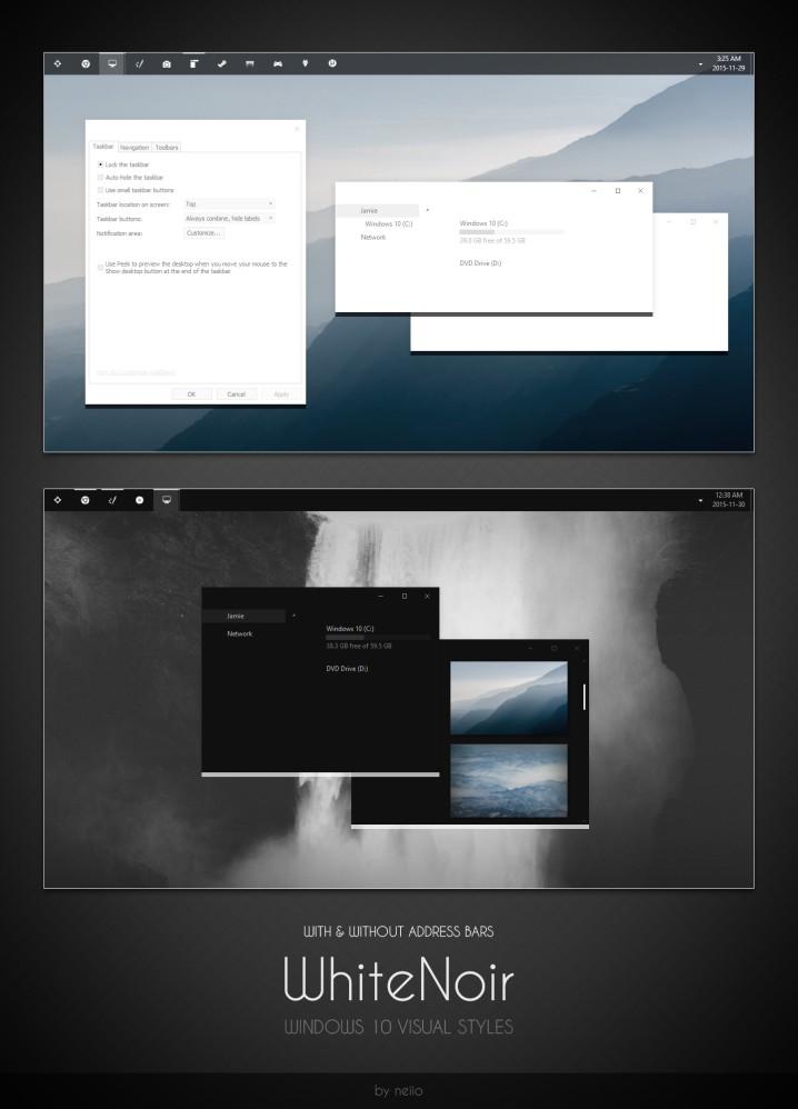 WhiteNoir Windows 10